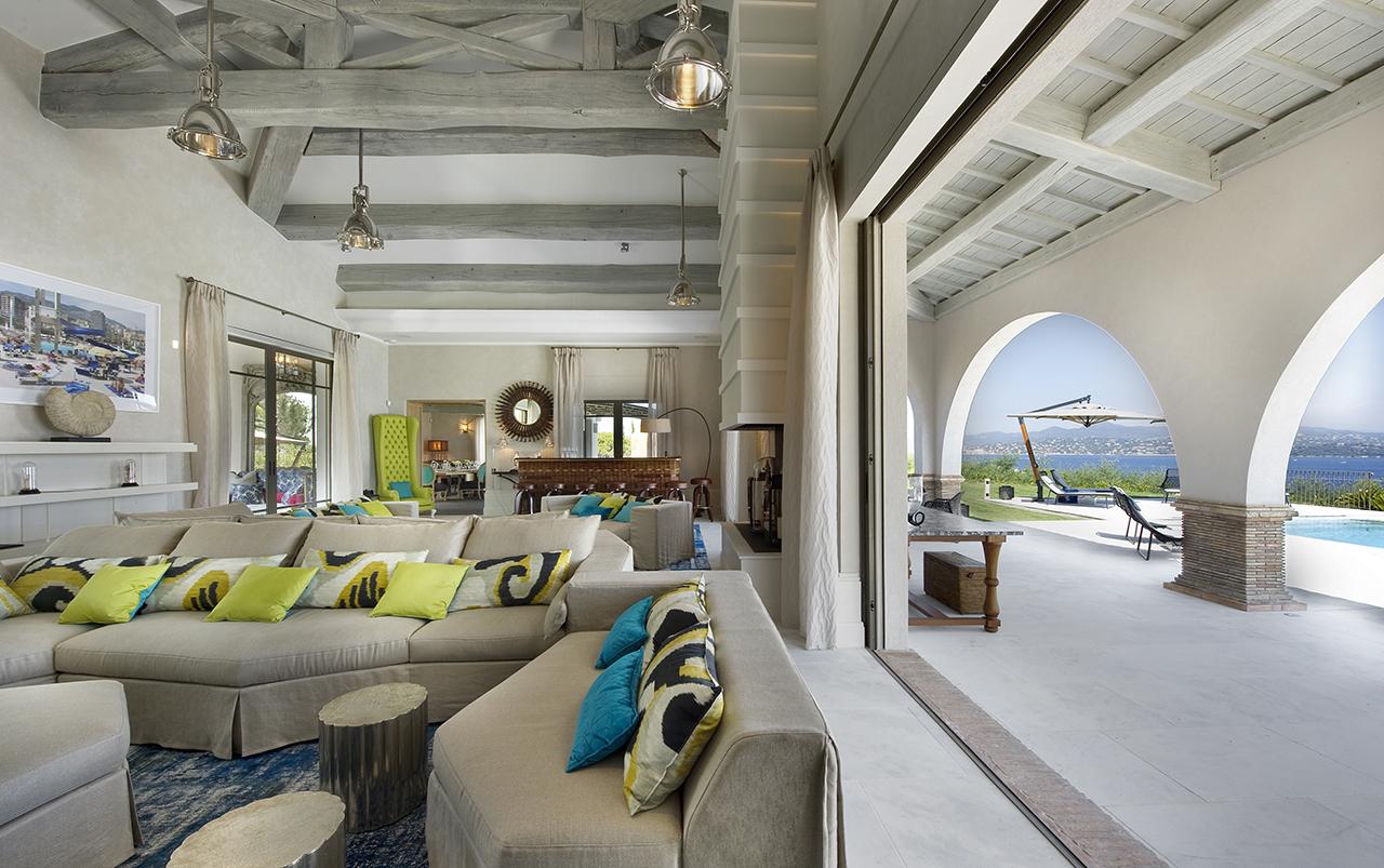 Luxury holidays villa saint tropez