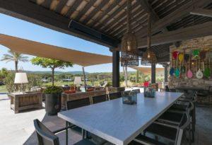 Huchette villa overview image