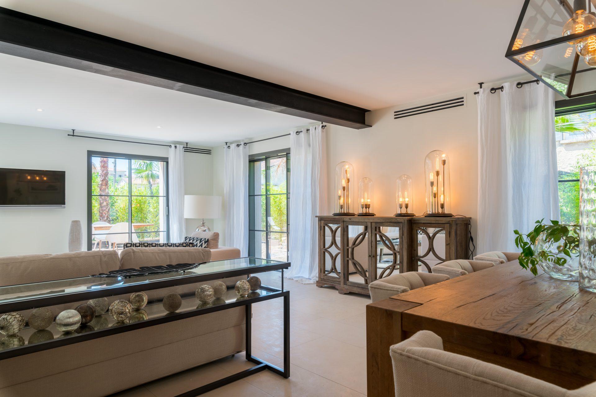 luksus villa til leie saint tropez strand-4