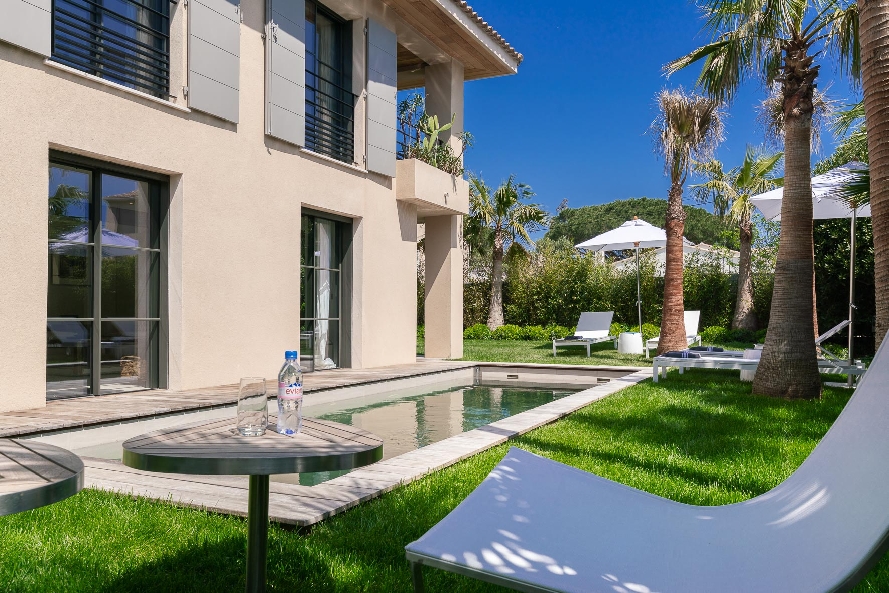 luksus villa til leie saint tropez strand5
