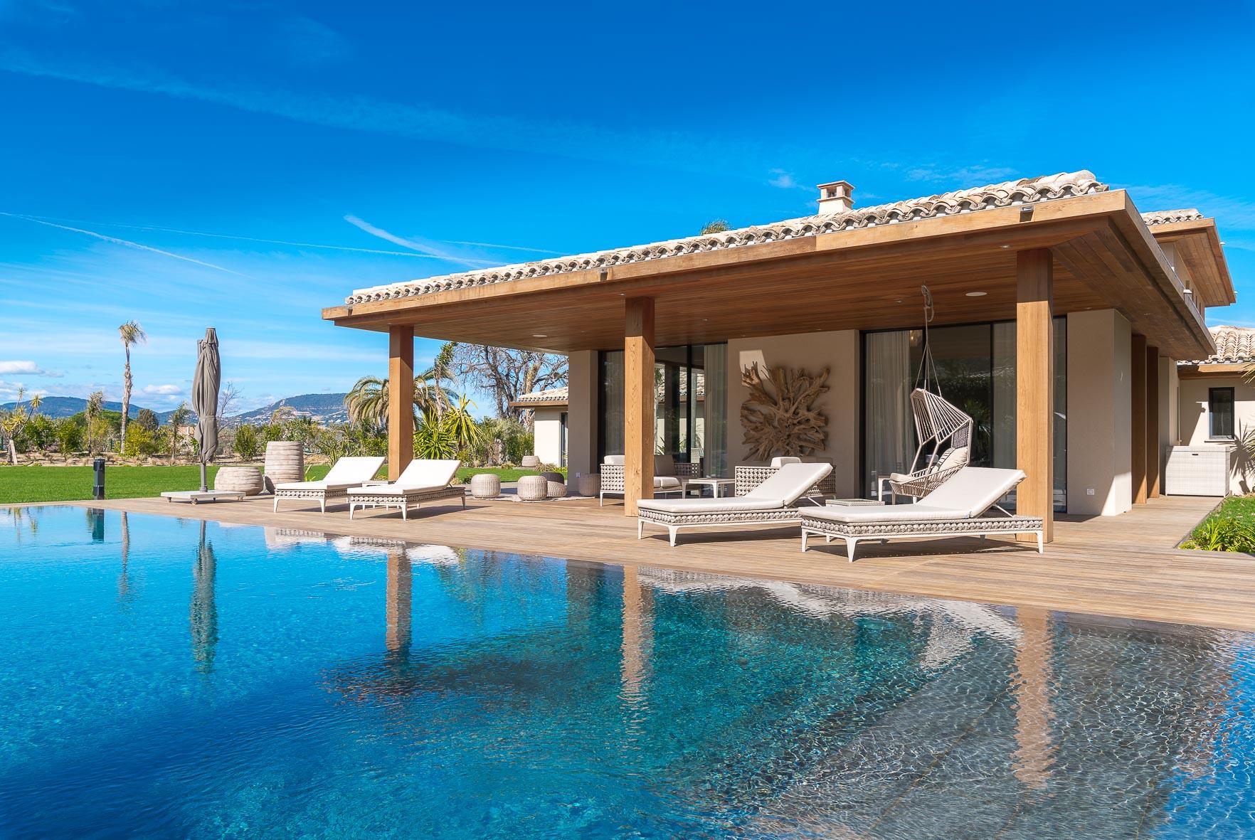 lyxig villa uthyrning stranden saint tropez -6